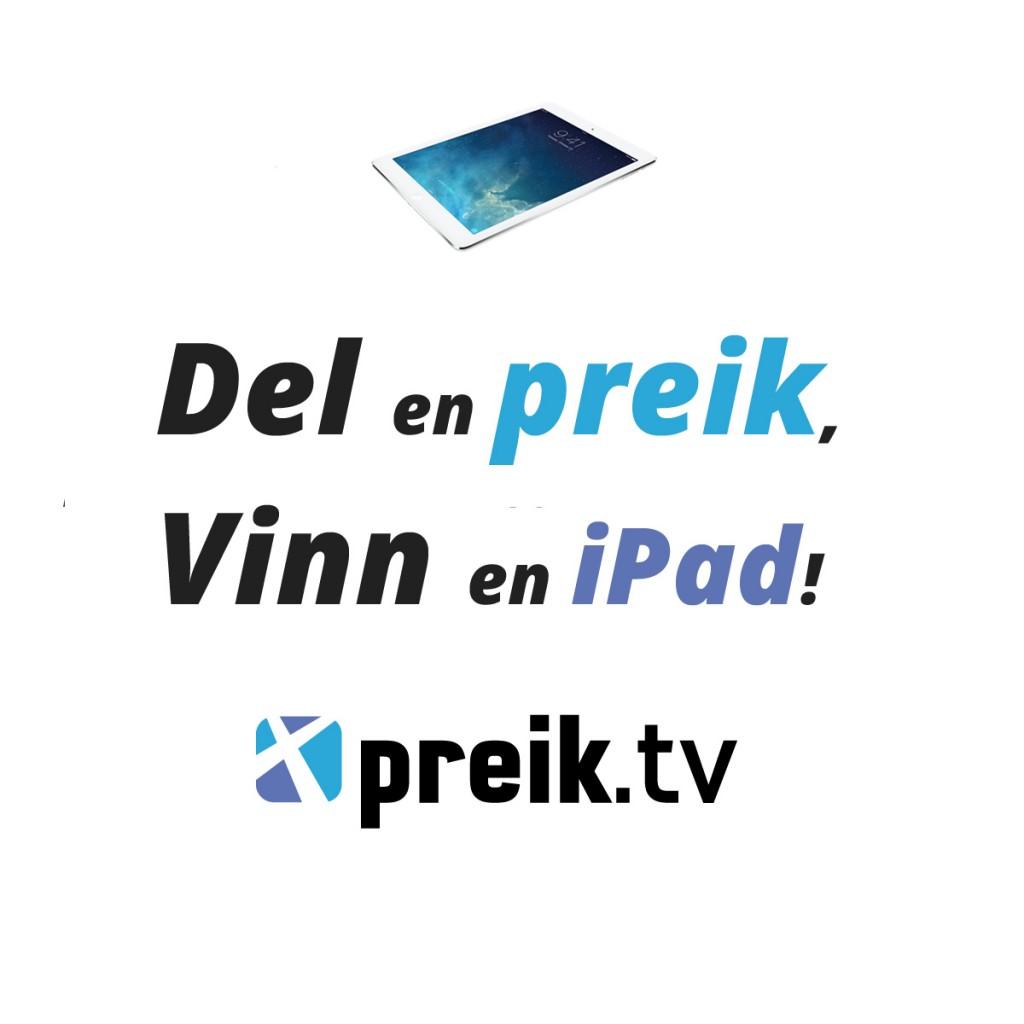 Du kan vinne en iPad!